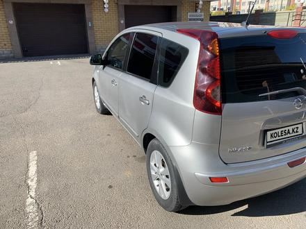 Nissan Note 2011 года за 3 900 000 тг. в Нур-Султан (Астана) – фото 3