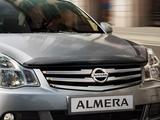 Передний бампер на Nissan Almera G15 за 60 000 тг. в Алматы – фото 2