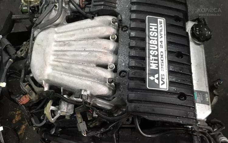 Mitsubishi Galant 2.5 Двигатель за 250 000 тг. в Нур-Султан (Астана)