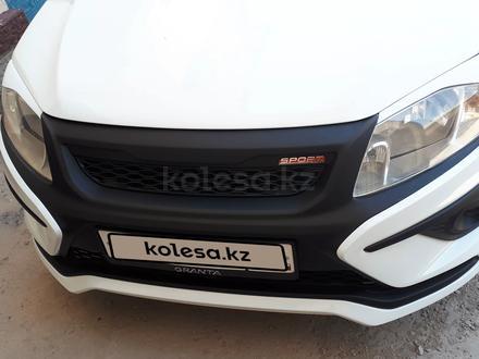 ВАЗ (Lada) Granta 2190 (седан) 2015 года за 2 500 000 тг. в Кызылорда – фото 5