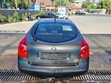 Nissan Primera 2002 года за 2 500 000 тг. в Алматы – фото 4