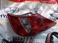Задние фонари на Hyundai Accent 2010-2013 Hatchback за 30 000 тг. в Шымкент