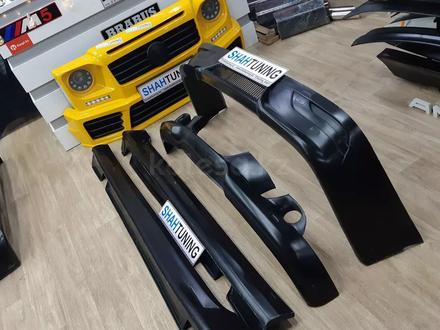Тюнинг накладки на бампера AC Schnitzer для BMW e60 за 20 000 тг. в Алматы – фото 2