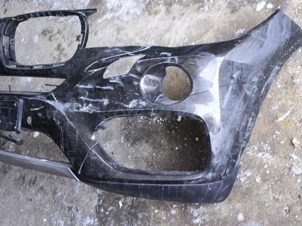 Передний бампер на x6 f16 оригинал, есть трещина 1827 за 35 000 тг. в Нур-Султан (Астана) – фото 6