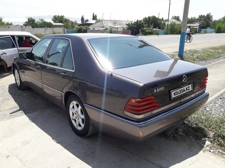 Mercedes-Benz S 600 1992 года за 2 500 000 тг. в Тараз – фото 5