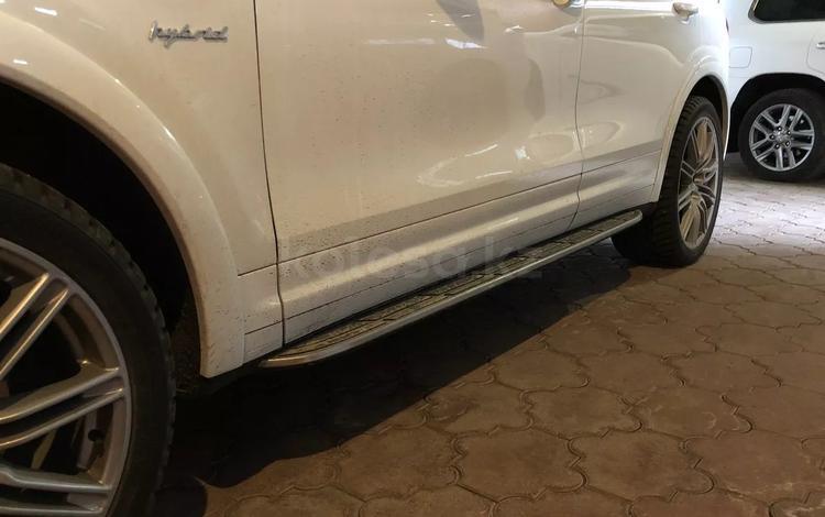 Оригинальны пороги (подножки) на Porsche Cayenne за 350 000 тг. в Алматы