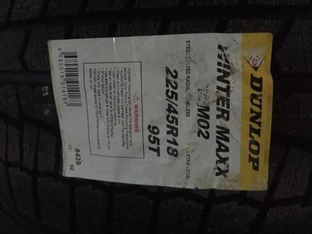 Шины Dunlop 225/45/r18 WM01 за 70 000 тг. в Алматы