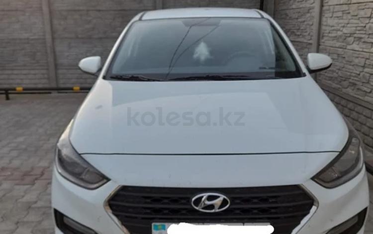Hyundai Accent 2018 года за 7 200 000 тг. в Тараз