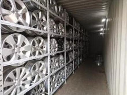 Диски оригинальные из Японии. Subaru j6.5 ET55 за 100 000 тг. в Алматы – фото 4