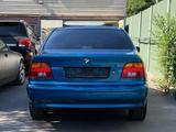 BMW 530 2001 года за 4 000 000 тг. в Алматы – фото 5