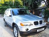 BMW X5 2001 года за 3 850 000 тг. в Алматы – фото 4