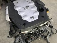 Двигатель Nissan VQ35HR 3.5 л из Японии за 500 000 тг. в Костанай