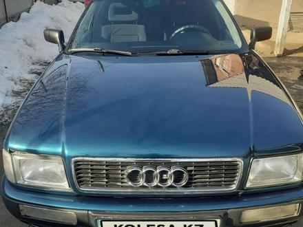Audi 80 1995 года за 2 400 000 тг. в Алматы – фото 4
