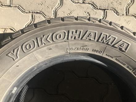 235/65/17 YOKOHAMA за 47 000 тг. в Алматы – фото 2