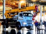 Ивановец  Кран КС-55735-6 на шасси КАМАЗ-6540 2021 года в Кызылорда – фото 2