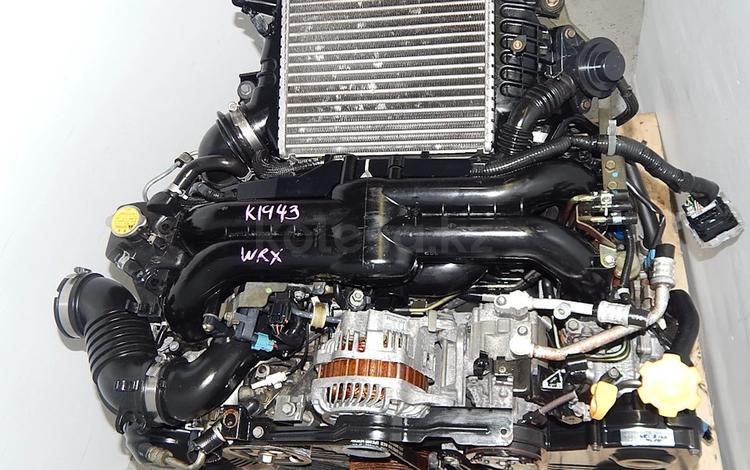 Контрактный двигатель EJ20X Subaru 2.0 турбо Legacy BL BP с… за 300 000 тг. в Нур-Султан (Астана)