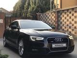 Audi A5 2012 года за 8 400 000 тг. в Алматы