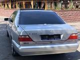 Mercedes-Benz S 420 1996 года за 4 500 000 тг. в Костанай – фото 3