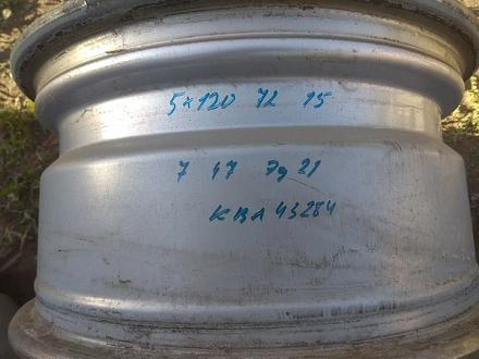 Оригинальные легкосплавные диски на автомашину BMW 3 (Германия R15 за 95 000 тг. в Нур-Султан (Астана) – фото 7