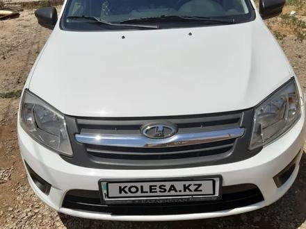 ВАЗ (Lada) 2190 (седан) 2015 года за 2 600 000 тг. в Кызылорда – фото 3