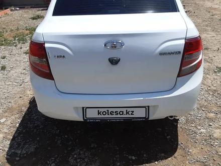 ВАЗ (Lada) 2190 (седан) 2015 года за 2 600 000 тг. в Кызылорда – фото 6