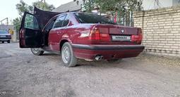 BMW 525 1990 года за 1 100 000 тг. в Шу – фото 3