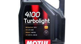 Моторное масло Motul 4100 Turbolight 10w-40 за 11 000 тг. в Алматы
