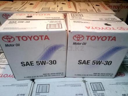 Оригинальное моторное масло Toyota 5w-30 за 2 300 тг. в Караганда – фото 3