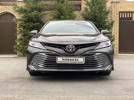 Toyota Camry 2018 года за 12 300 000 тг. в Караганда – фото 10