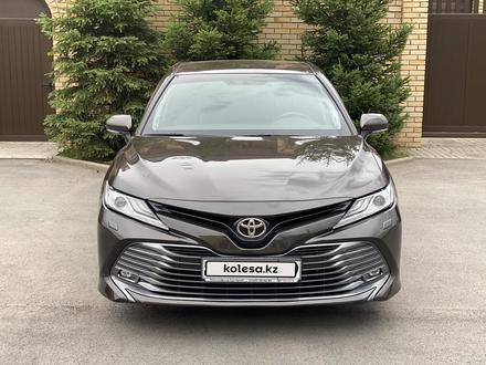 Toyota Camry 2018 года за 12 300 000 тг. в Караганда – фото 8