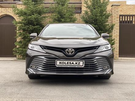 Toyota Camry 2018 года за 12 300 000 тг. в Караганда – фото 9
