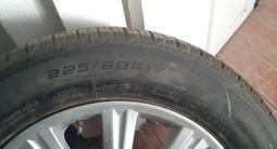 Оригиналные диски с шинами, стояли на RX330 за 170 000 тг. в Турара Рыскулова – фото 3
