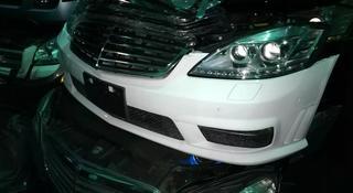 Бампер mercedes 221 63 AMG б/у в оригинале комплект за 330 000 тг. в Алматы