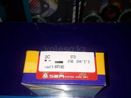 Toyota запчасти двигатель (поршневые кольца) 2с за 16 000 тг. в Алматы – фото 2