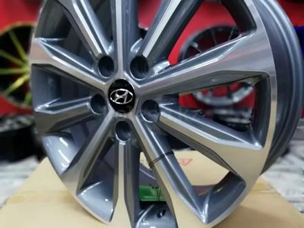 Новые диски р17 Hyundai Tucson, Elantra, Creta, Kia Cerato, Optima за 120 000 тг. в Алматы – фото 2