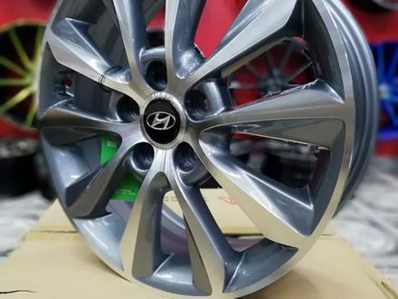 Новые диски р17 Hyundai Tucson, Elantra, Creta, Kia Cerato, Optima за 120 000 тг. в Алматы – фото 3