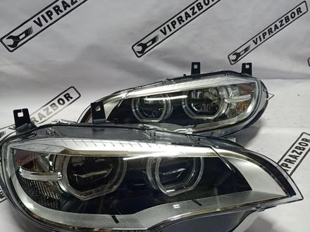 Передние фары BMW X6 X5 LED фары рестайлинг! за 860 000 тг. в Алматы
