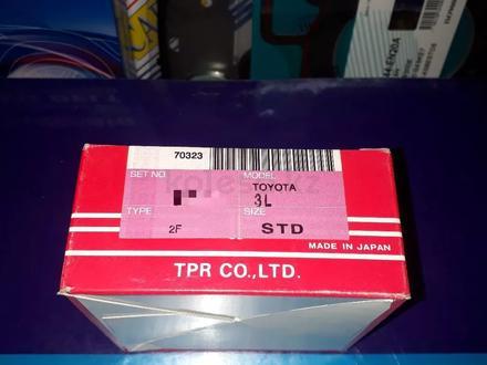 Toyota запчасти двигатель (поршневые кольца) 3l за 20 500 тг. в Алматы