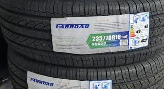 Комплект летних шин 235/70/16 Farroad за 23 000 тг. в Караганда