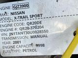 Двигатель привозной 2.0см (QR20DE) в полном навесе из Европы за 300 000 тг. в Алматы – фото 2