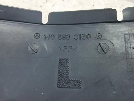 Передние локеры (подкрылки) на Mercedes W140 S CL за 23 240 тг. в Владивосток – фото 15