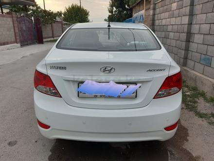 Hyundai Accent 2014 года за 4 100 000 тг. в Тараз – фото 2