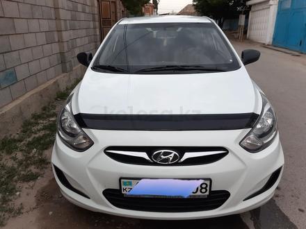Hyundai Accent 2014 года за 4 100 000 тг. в Тараз – фото 6