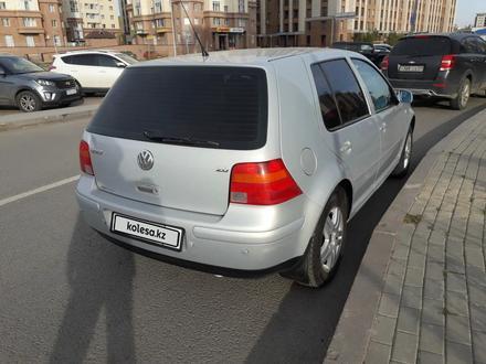 Volkswagen Golf 2003 года за 2 650 000 тг. в Нур-Султан (Астана) – фото 4