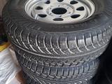 Шины с дисками от NISSAN б/у Matador 235*70*R16 зимние, шипованные за 100 000 тг. в Актау – фото 2