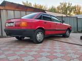 Audi 80 1990 года за 1 450 000 тг. в Алматы – фото 5