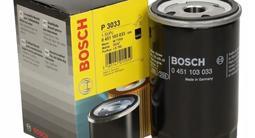 Bosch Фильтр масляный за 1 510 тг. в Алматы