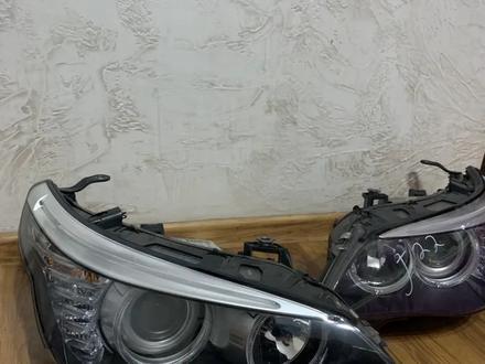Фары е60 рестайл за 170 000 тг. в Алматы – фото 2