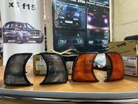 Поворотники BMW E34 LR Дымчатые Тонированные Черные за 6 000 тг. в Нур-Султан (Астана)