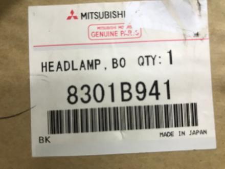Фары оригинальные под ксенон ю для Mitsubishi Outlander 2010- за 80 000 тг. в Нур-Султан (Астана) – фото 2